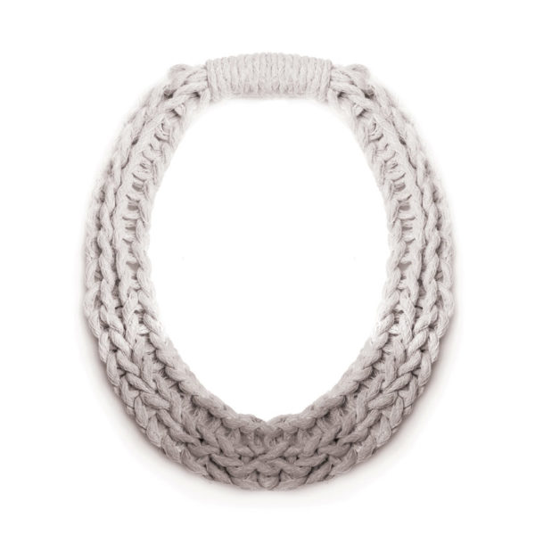 Woven-Jewellery-Saloukee-Purls-Necklace-Pastel-Grey