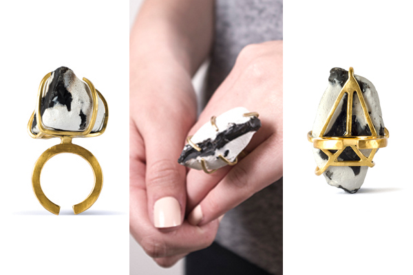 Monochrome gold jewellery picks by Saloukee Jewellery