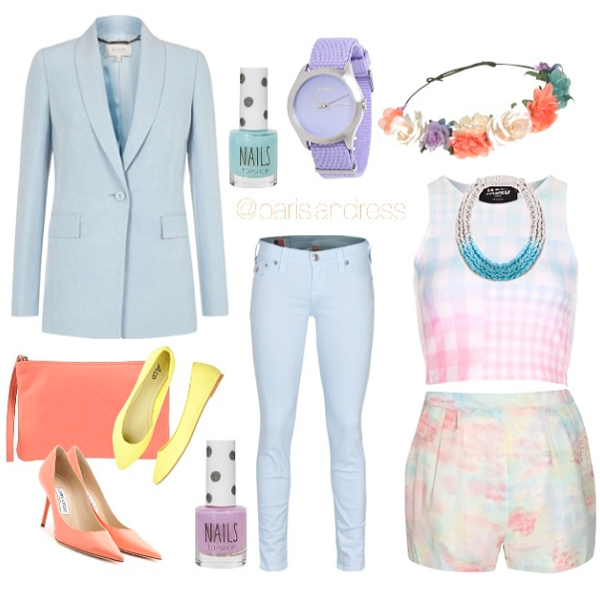 Runway Pastels For Spring Saloukee Jewellery Purls Necklace