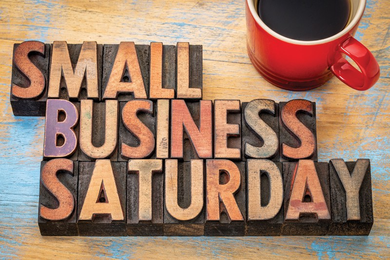 Shop small - small business saturday