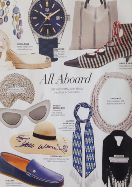 Jewellery Press Country and Townhouse Magazine Saloukee Feature