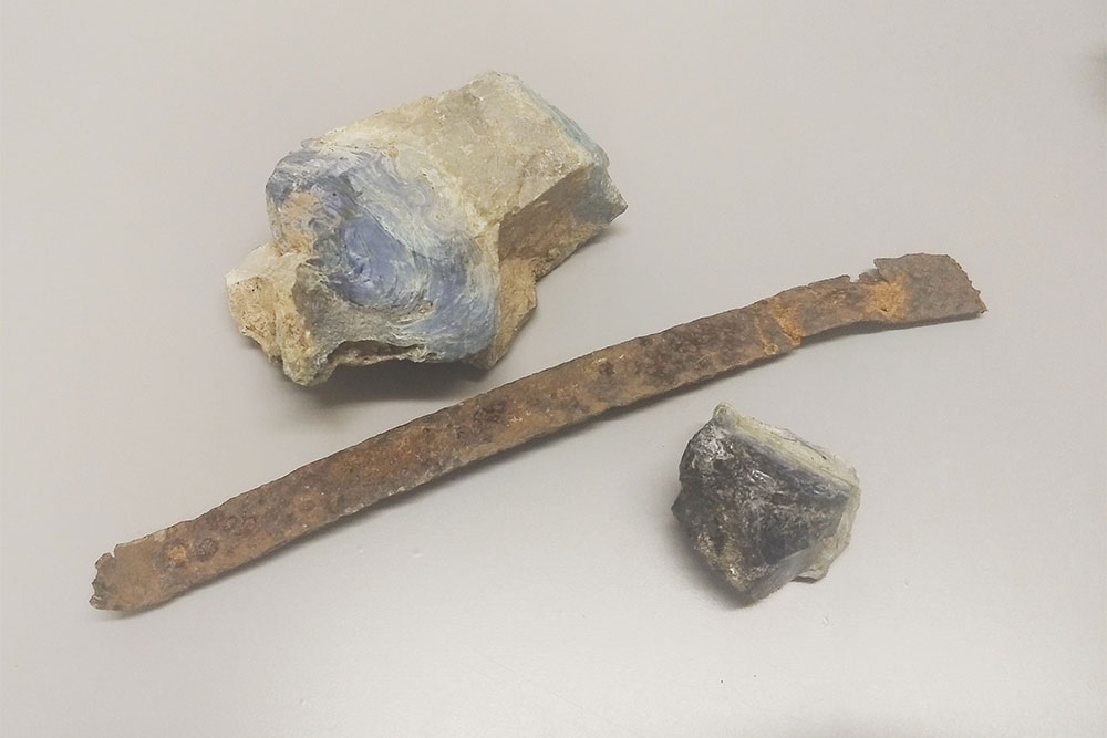 Iron Ring Found Materials