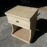 Before image of nightstand