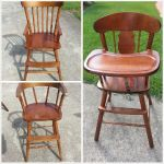 Refinished high chair