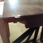 Repaired Dining Table