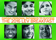 Save the date for our 2016 Annual Breakfast: March 31, 2016, at the Sheraton Seattle Hotel.
