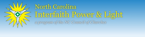 North Carolina Interfaith Power and<br />                                             Light