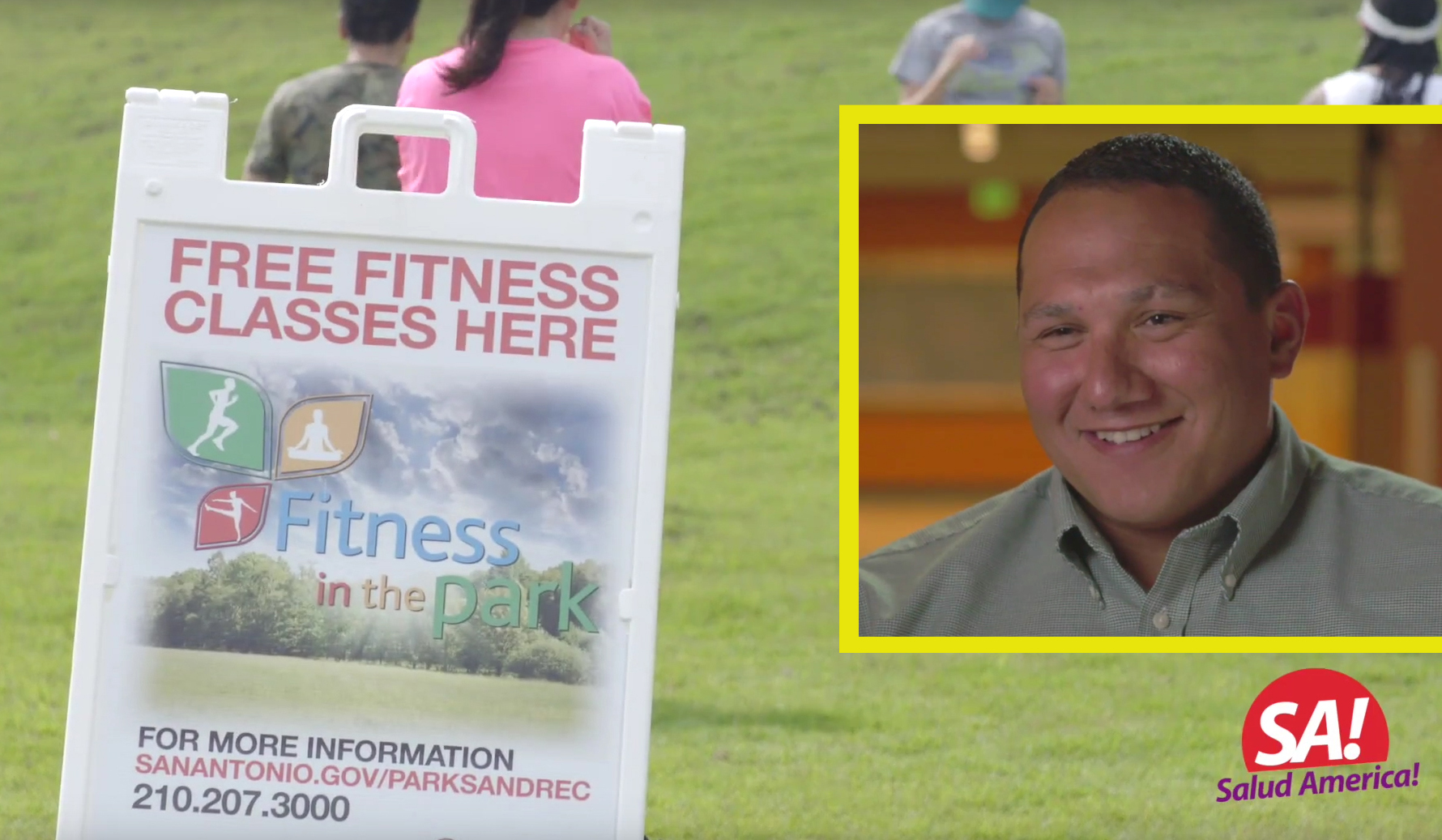 Pete Garcia, Fitness in the Park in San Antonio