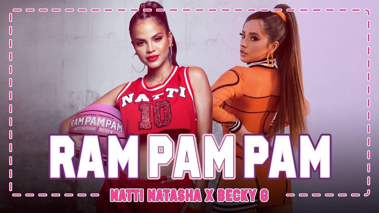 Natti-Natasha-y-Becky-G lanzan-Ram-Pam-Pam