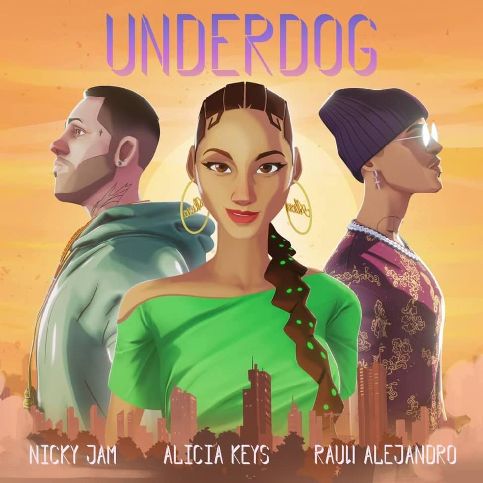 alicia-keys-lanza-el-remix-de-underdog-con-nicky-jam-y-rauw-alejandro