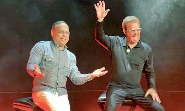 Willy-Chirino-y-Gilberto-Santa-Rosa-graban-juntos