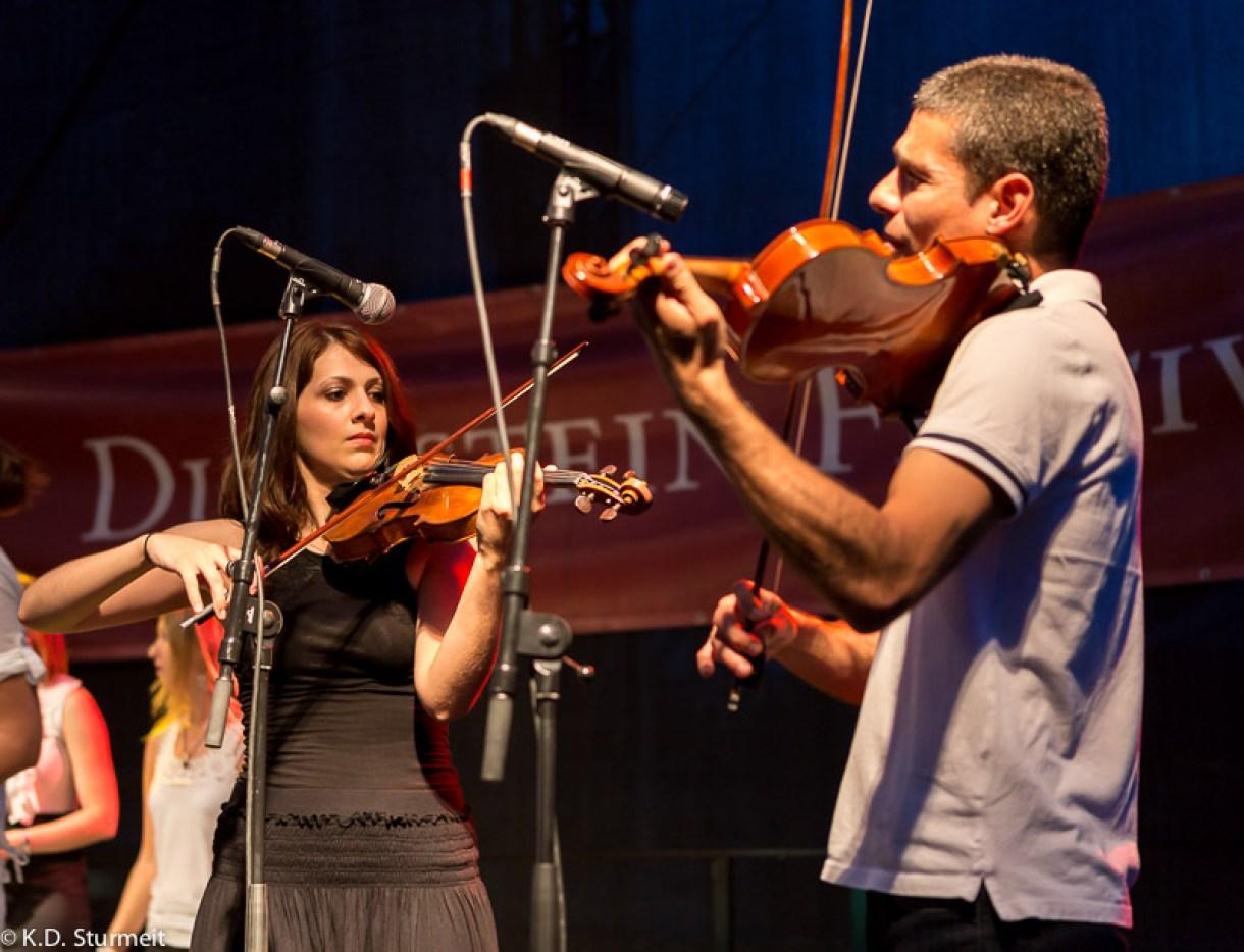 Duckstein Festival Lübeck 2014 - Azadeh und Ehsan an der Violine