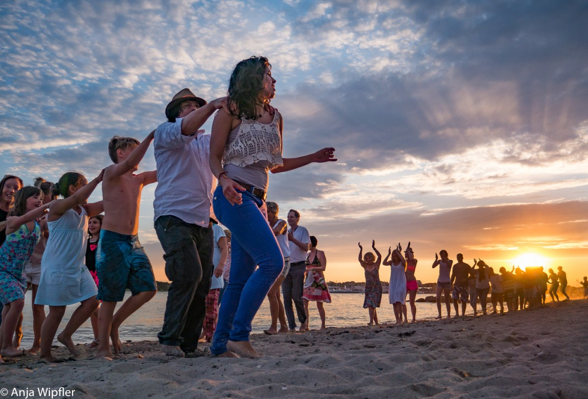 23.07.2016 Salsa am Strand in Neustadt - Dancing in sunrise