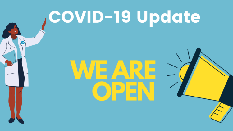 COVID-19 update: We are open