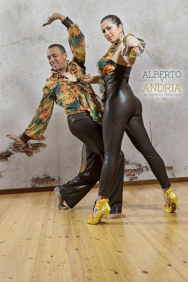 Alberto Valdés & Andria Panagi son épouse (photographie de Valentin Behringer)