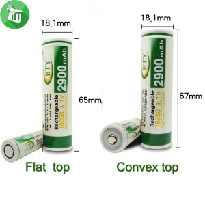 BTY 18650 Battery 1PCS 29E Rechargeable Battery 2900mAh
