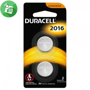 Duracell Lithium Battery CR2016 – 3V 2PCS