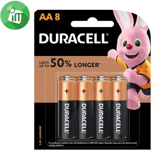 Duracell Plus Power AA Batteries 1.5V 8PCS