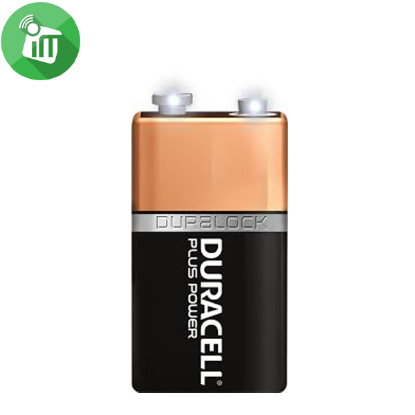 Duracell Plus Power Size 9V Batteries 1PCS
