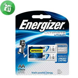 Energizer 2PCS AA Ultimate Lithium 1.5V