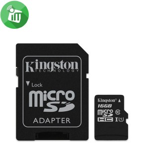 Kingston 16GB Class 10 80MB/s SDHC Micro Memory Card