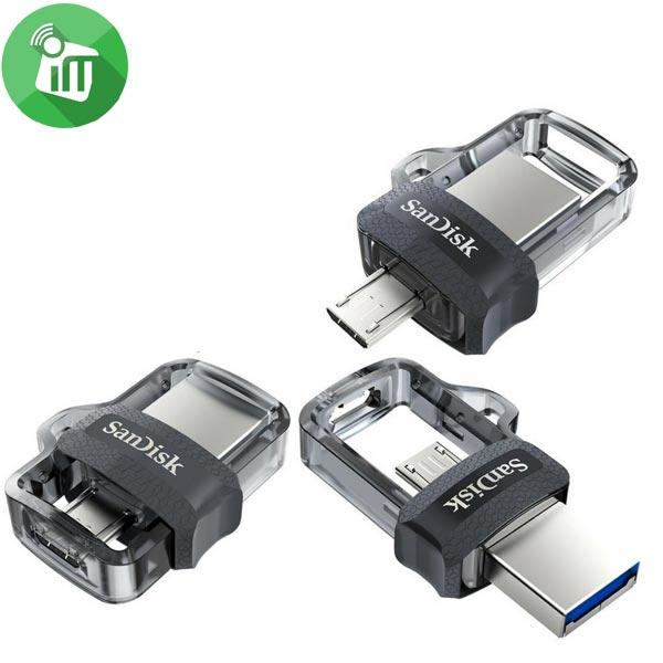 SANDISK 64GB ULTRA DUAL FLASH DRIVE M3.0