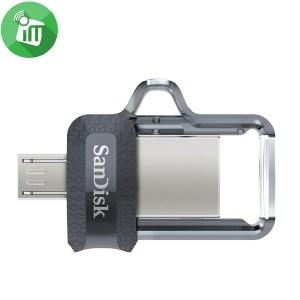 SanDisk Ultra Dual Drive 256GB Micro USB M3.0 OTG Flash Drive