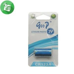 qoop Lithium Battery CR123A/3V