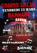 soirée 22 mars Barnabé