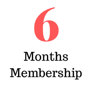 6 Months Membership (Subscription)