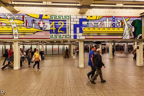 42nd St subway