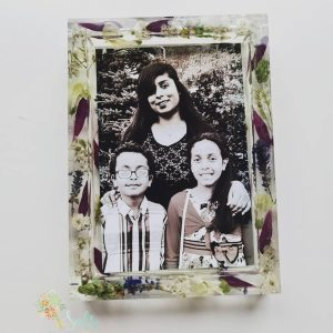 Flower Preservation Photo Frame