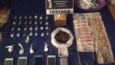 Photo of Golpe al narcotráfico: secuestraron más de seis mil dosis de drogas