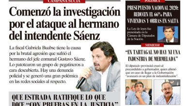 Photo of Anticipo del Semanario El Intransigente