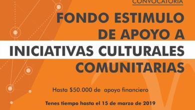 Photo of Nueva fecha del Fondo Estímulo de Apoyo a Iniciativas Culturales Comunitarias