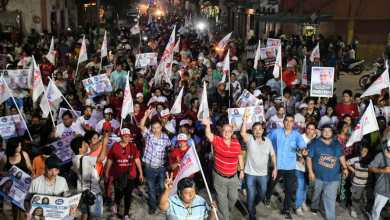 Photo of Multitudinaria caminata cierre de campaña de Miguel Isa en Embarcación