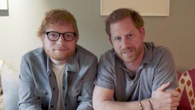 Photo of Ed Sheeran y el príncipe Harry comparten un divertido video