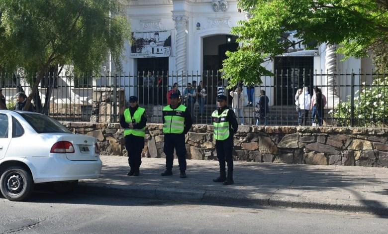 Operativo policial en elecciones - Fuente: salta.gov.ar