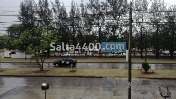Llueve en Salta