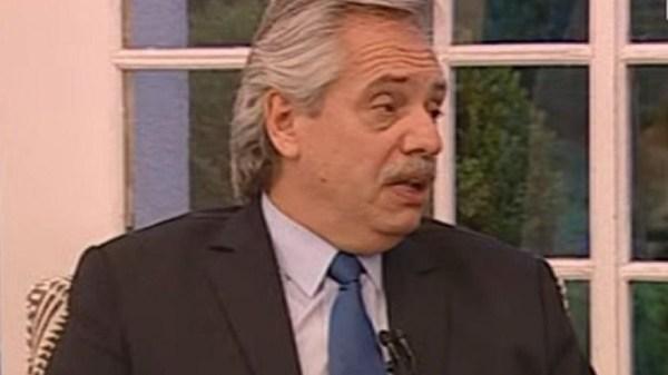 Alberto Fernández - Foto: Captura de pantalla