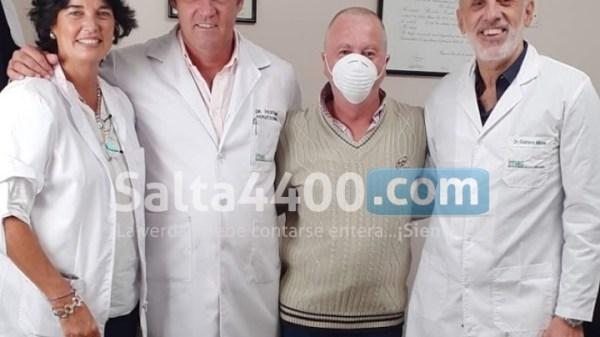 Dr. Basilio Pertiné - Foto: Salta4400.com -Derechos Reservados-