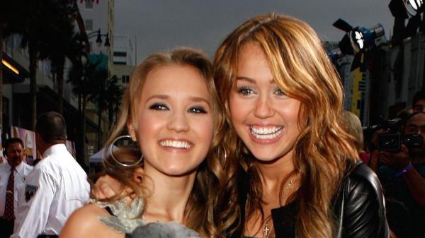 Miley Cyrus y Lilly Truscott