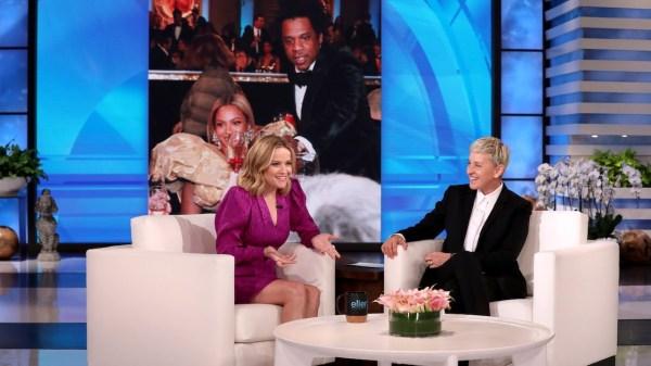 Reese Witherspoon Ellen DeGeneres
