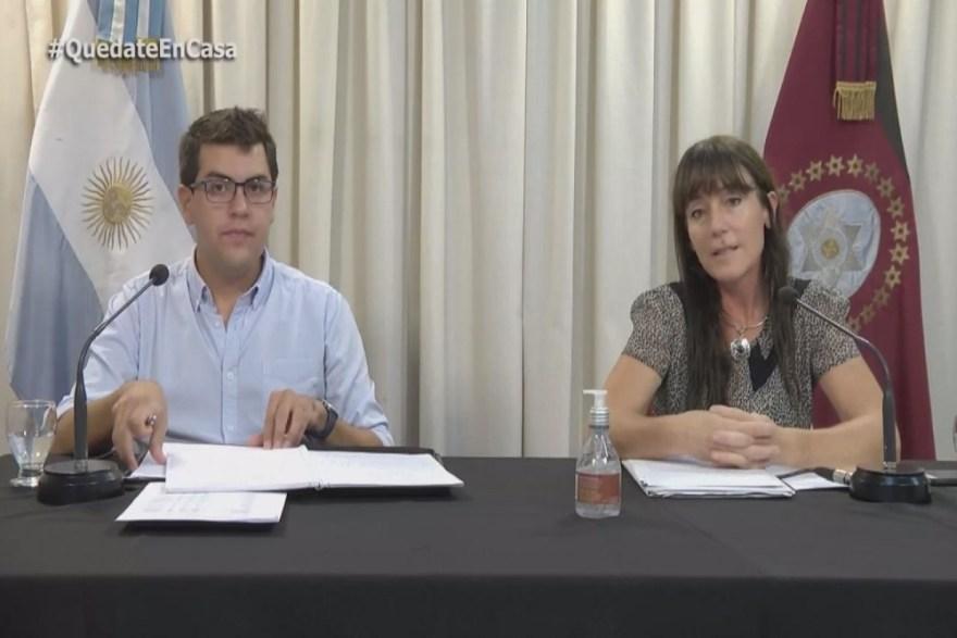 Veronica Figueroa e Ignacio González