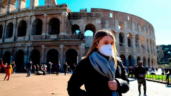 Italia es el país de Europa que más sufre ante el coronavirus.
