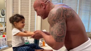 Photo of El tierno secreto que Dwayne Johnson le guarda a su pequeña hija