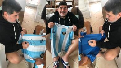 Photo of Diego Armando Maradona ayuda a Juventud Antoniana