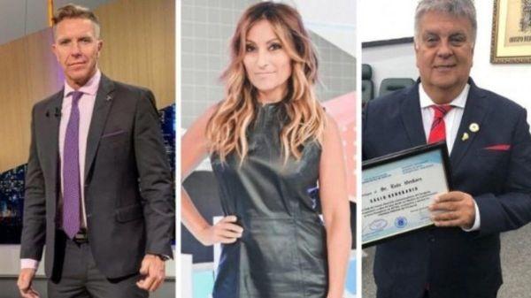 Alejandro Fantino, Marcela Tauro y Luis Ventura