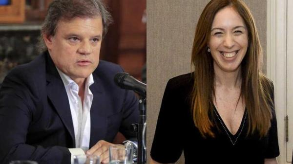Enrique Sacco y María Eugenia Vidal