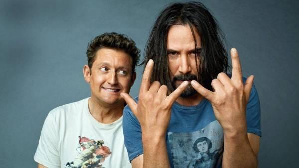 Keanu Reeves y Alex Winter